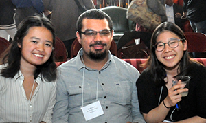 2016 AC Student Prize Recipients (left to right) Marie Lim, Eli Moreno and Selena Kim (not pictured Katherine Lazalde)