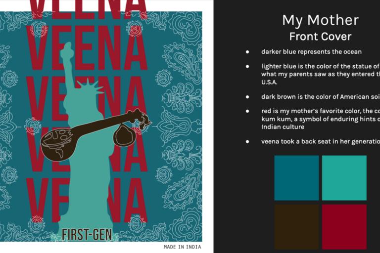 Front cover of Veena, album 2