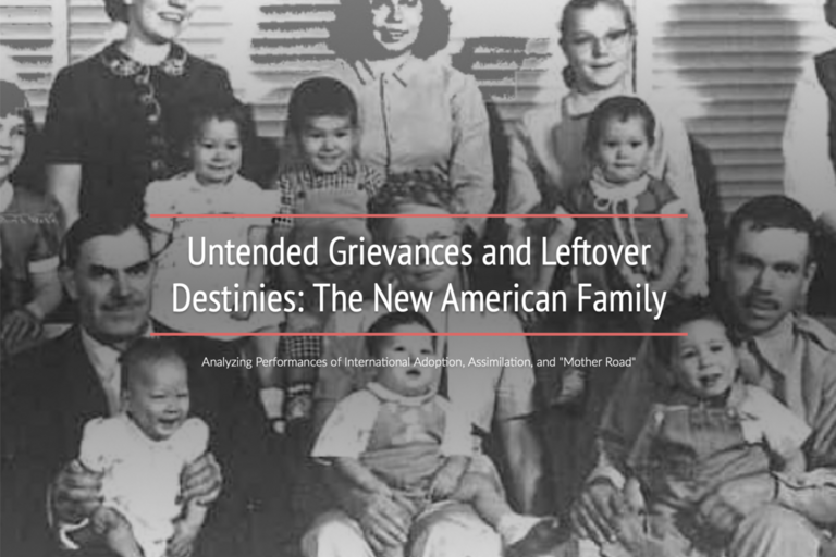 Untended Grievances and Leftover Destinies: The New American Family