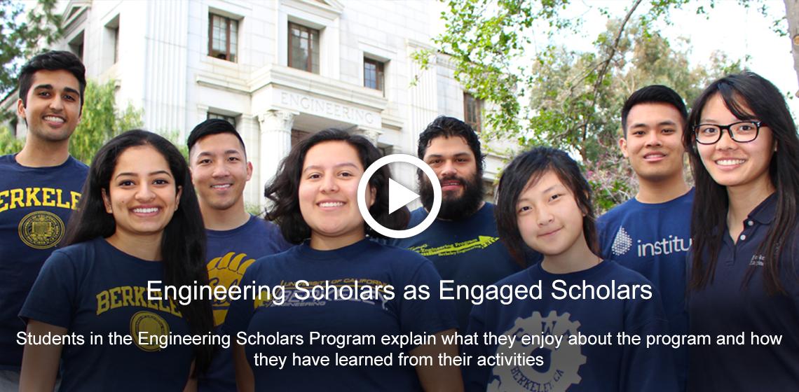 Engineering Scholars as Engaged Scholars [Video]