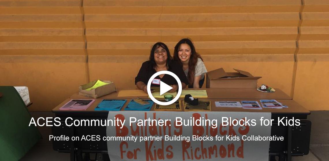 Profile on ACES community partner, Building Blocks for Kids