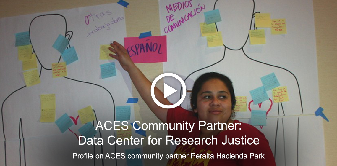 Profile on ACES community partner, Data Center for Research Justice