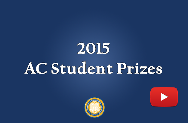 Image that links to 2015 AC Student Prizes Video