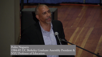 Pedro Noguera giving keynote speech at 25th Anniversary of American Cultures