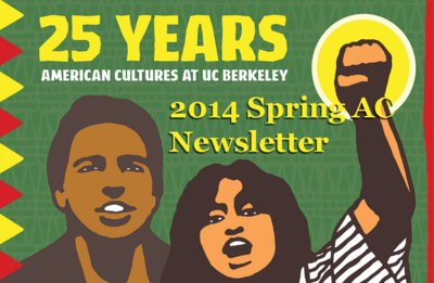 2014 Spring Newsletter featuring AC Anniversary Poster