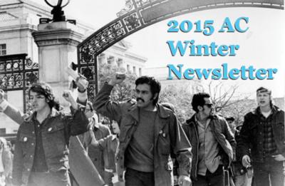 2015 Winter Newsletter featuring Manuel Delgado