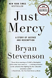 Cover of Just Mercy, the book